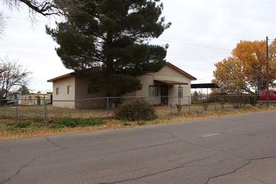 Tularosa Single Family Home For Sale: 301 S Bookout Rd