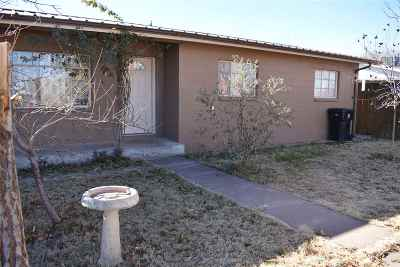 Tularosa Single Family Home For Sale: 1000 Posey Ln