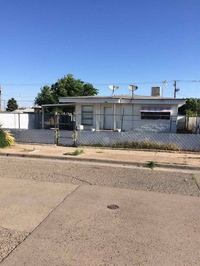 Alamogordo Single Family Home Under Contract: 1303 Charlotte Ln