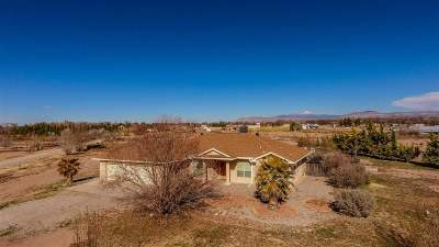 Tularosa Single Family Home Uc W/Contingency: 5 Mirasol Ln