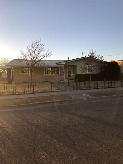 Alamogordo Single Family Home For Sale: 615 Madison Av