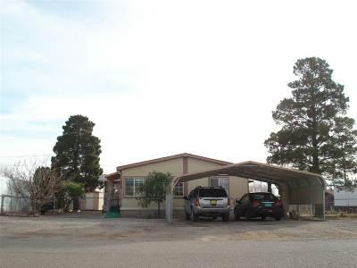 Alamogordo Single Family Home Under Contract: 735 Post Av