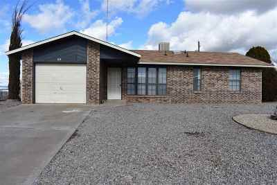 Alamogordo Single Family Home For Sale: 805 Santa Cruz Dr