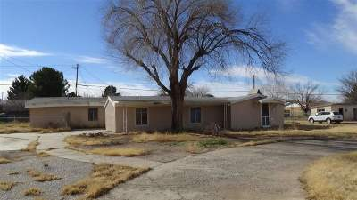 High Rolls, La Luz, Tularosa, Alamogordo, Cloudcroft, Bent Single Family Home For Sale: 1800 Eighth St