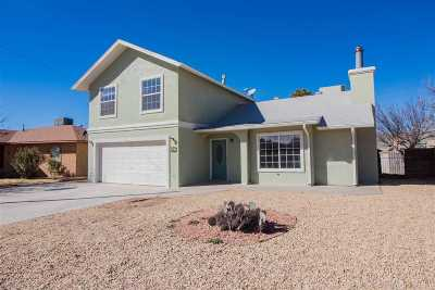 Alamogordo Single Family Home Under Contract: 613 Mars Av