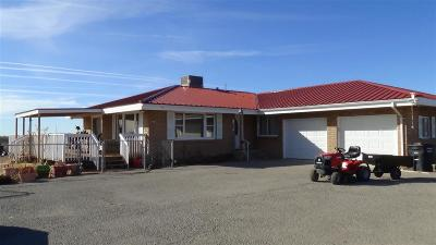 Alamogordo Single Family Home Under Contract: 39 Southend Rd