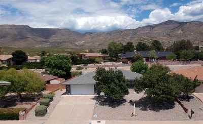 Alamogordo Single Family Home For Sale: 1522 Serrano