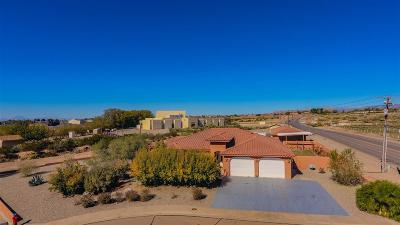 Alamogordo Single Family Home Under Contract: 725 Ridge Ct