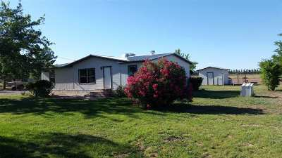 Tularosa Single Family Home Under Contract: 64 NW Bookout Rd