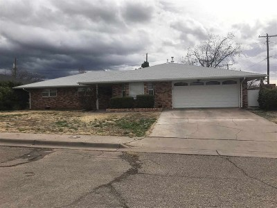Alamogordo Single Family Home For Sale: 2306 Nineteenth St