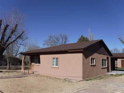 Tularosa Single Family Home For Sale: 110 Bosque St
