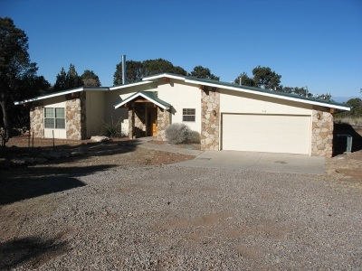 La Luz Single Family Home For Sale: 98 Cottonwood Canyon