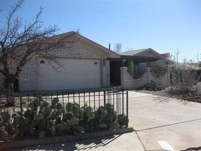 Alamogordo Single Family Home For Sale: 2804 Sunrise Av