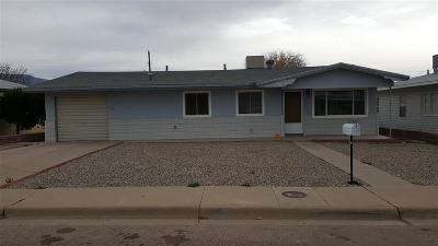 Alamogordo Single Family Home For Sale: 1306 Nineteenth St