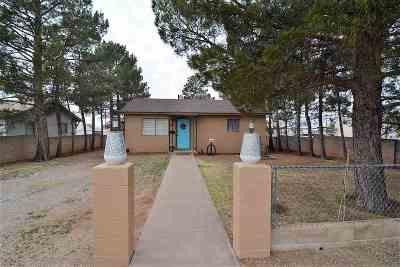 Alamogordo NM Single Family Home For Sale: $81,500