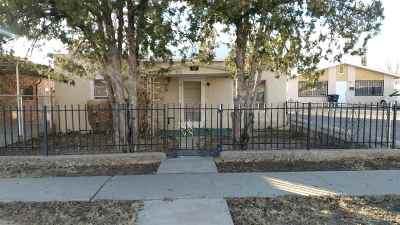 Alamogordo Single Family Home Under Contract: 107 New York Av