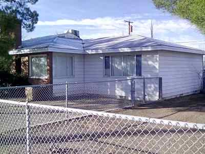 Tularosa Single Family Home Under Contract: 1211 Montezuma Ave