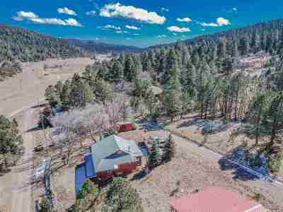 Cloudcroft Single Family Home Under Contract: 31 Isleta