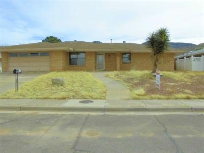 Alamogordo Single Family Home For Sale: 408 Sundial Av