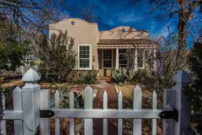 Tularosa Single Family Home Under Contract: 714 3rd St