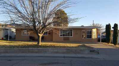 Alamogordo Single Family Home Under Contract: 2312 Telles Av