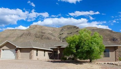 Alamogordo Single Family Home Uc W/Contingency: 70 Lady Of The Mountain Rd