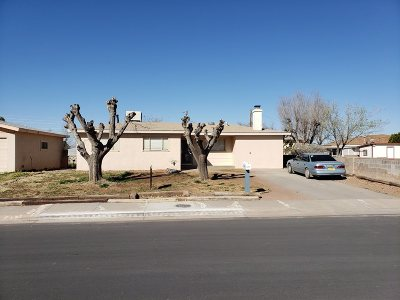 Alamogordo Single Family Home Uc Taking Backup Offers: 1313 Spruce Av
