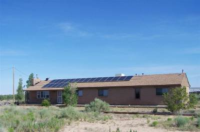 Alamogordo Single Family Home Uc W/Contingency: 127 Santa Florence Rd