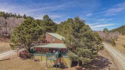Cloudcroft Single Family Home For Sale: 5 Jicarilla