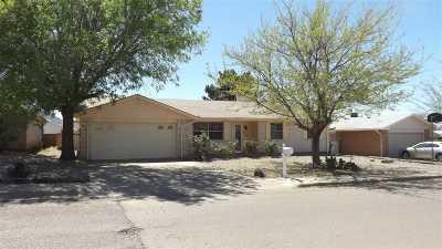 Alamogordo Single Family Home For Sale: 3014 Shawnee Trl