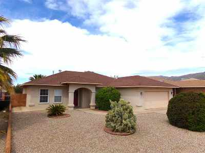 Alamogordo Single Family Home For Sale: 1045 San Cristo St