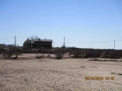 Alamogordo Single Family Home Under Contract: 81 Southend Rd