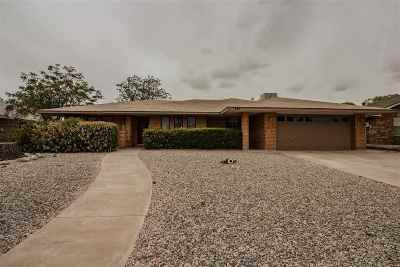 Alamogordo Single Family Home Under Contract: 543 Eagle Dr