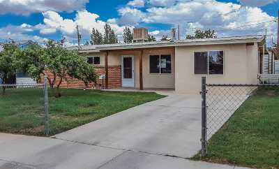 Tularosa Single Family Home Under Contract: 705 Chris Dr