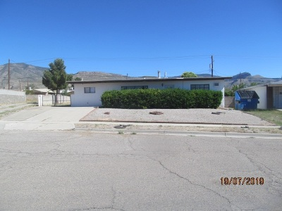 Alamogordo NM Single Family Home For Sale: $87,500