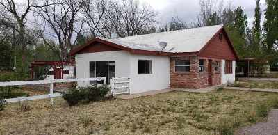 Tularosa Single Family Home For Sale: 508 Bosque St