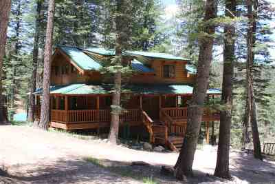 Cloudcroft Single Family Home For Sale: 40 Spring Water