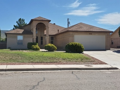 Alamogordo Single Family Home For Sale: 3746 Mosswood Av