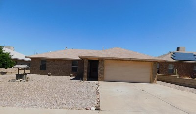 Alamogordo Single Family Home Uc W/Contingency: 1071 Mimosa Av