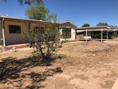 Alamogordo Single Family Home For Sale: 1507 Utah Av