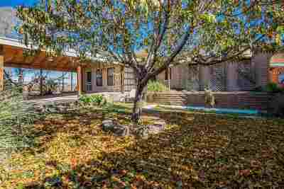 Tularosa Single Family Home Under Contract: 1424 Apple Ave