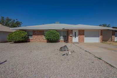 Alamogordo Single Family Home Under Contract: 1507 Arizona Av