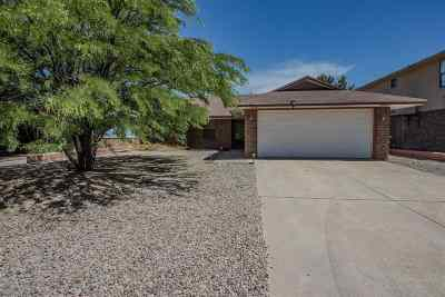 Alamogordo Single Family Home For Sale: 1406 Lindberg Av
