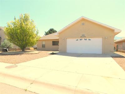 Alamogordo Single Family Home For Sale: 3306 Robert H Bradley Dr