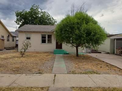 Alamogordo Single Family Home For Sale: 1418 Ohio Av