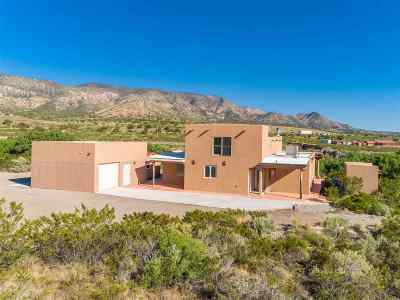Bent Single Family Home For Sale: 27 Comanchero Trl