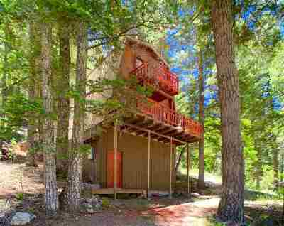 Cloudcroft Single Family Home Under Contract: 68 Canyon Trl