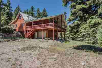 Cloudcroft Single Family Home Under Contract: 242 Cox Canyon Hwy