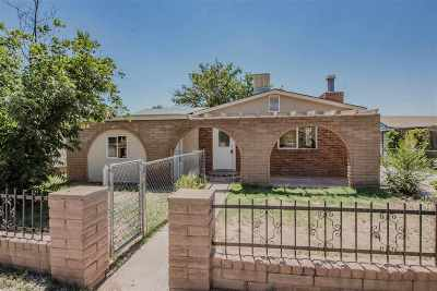 Tularosa Single Family Home For Sale: 1105 Marshall Ave