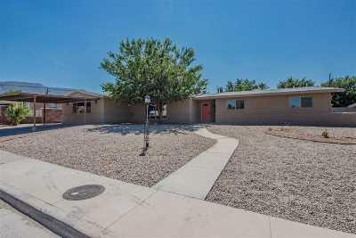 Alamogordo Single Family Home For Sale: 2706 Pontiac Dr